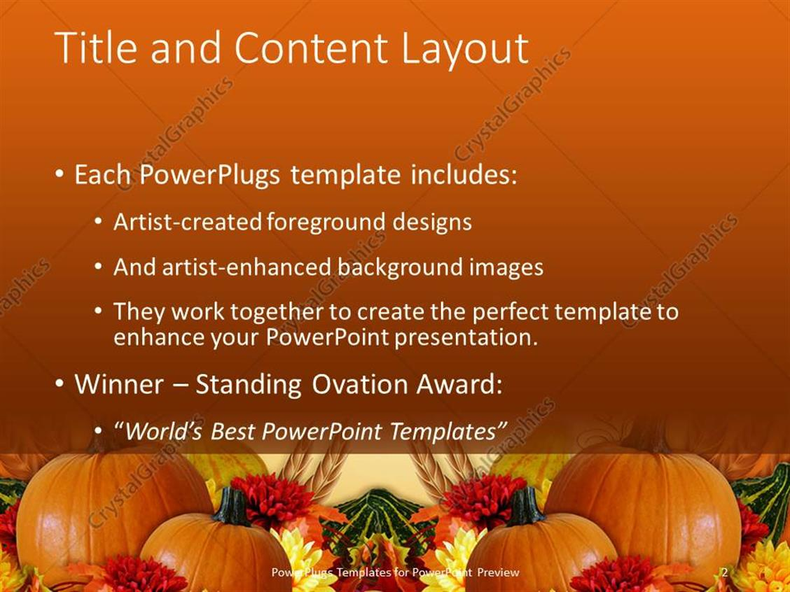 harvest powerpoint background
