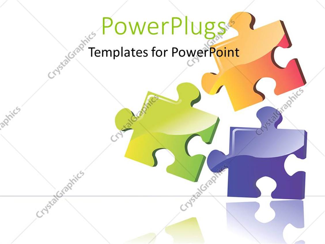 Powerpoint template three color puzzle boards with white color powerpoint template displaying three color puzzle boards with white color toneelgroepblik Image collections