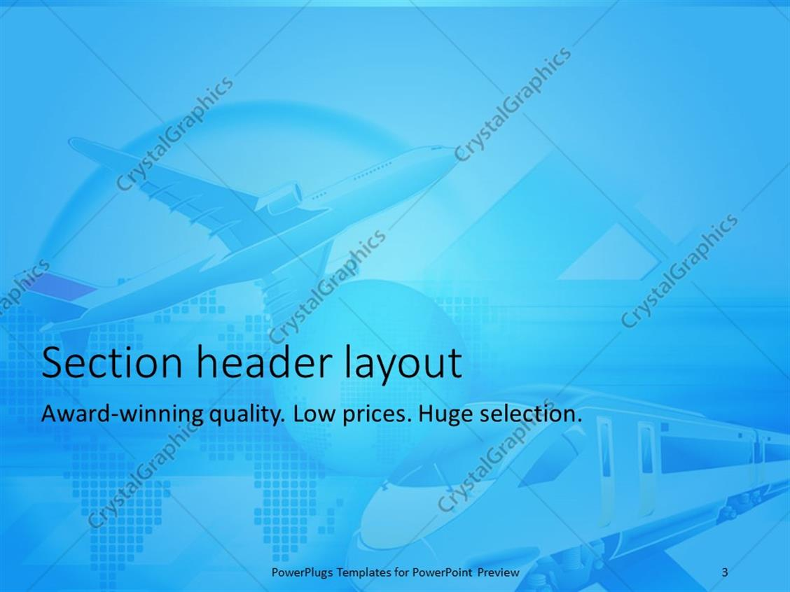 Travel themed powerpoint template quantumgaming train powerpoint template image collections templates example powerpoint templates toneelgroepblik Image collections
