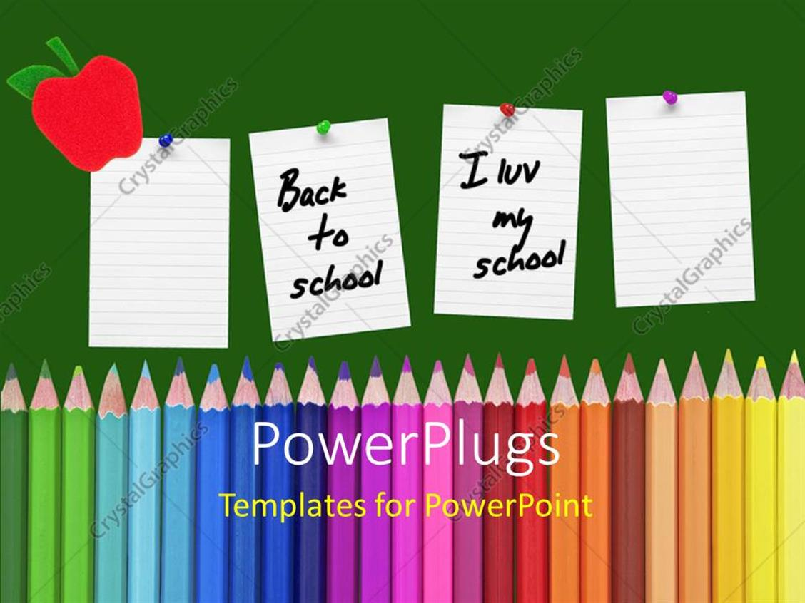 Powerpoint Templates School Theme