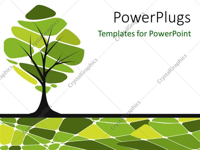 Powerpoint template vector card design with stylized trees 14903 powerpoint template displaying vector card design with stylized trees toneelgroepblik Gallery