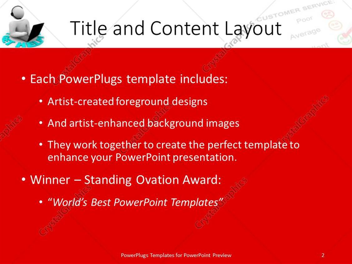 service award powerpoint template choice image - powerpoint, Modern powerpoint