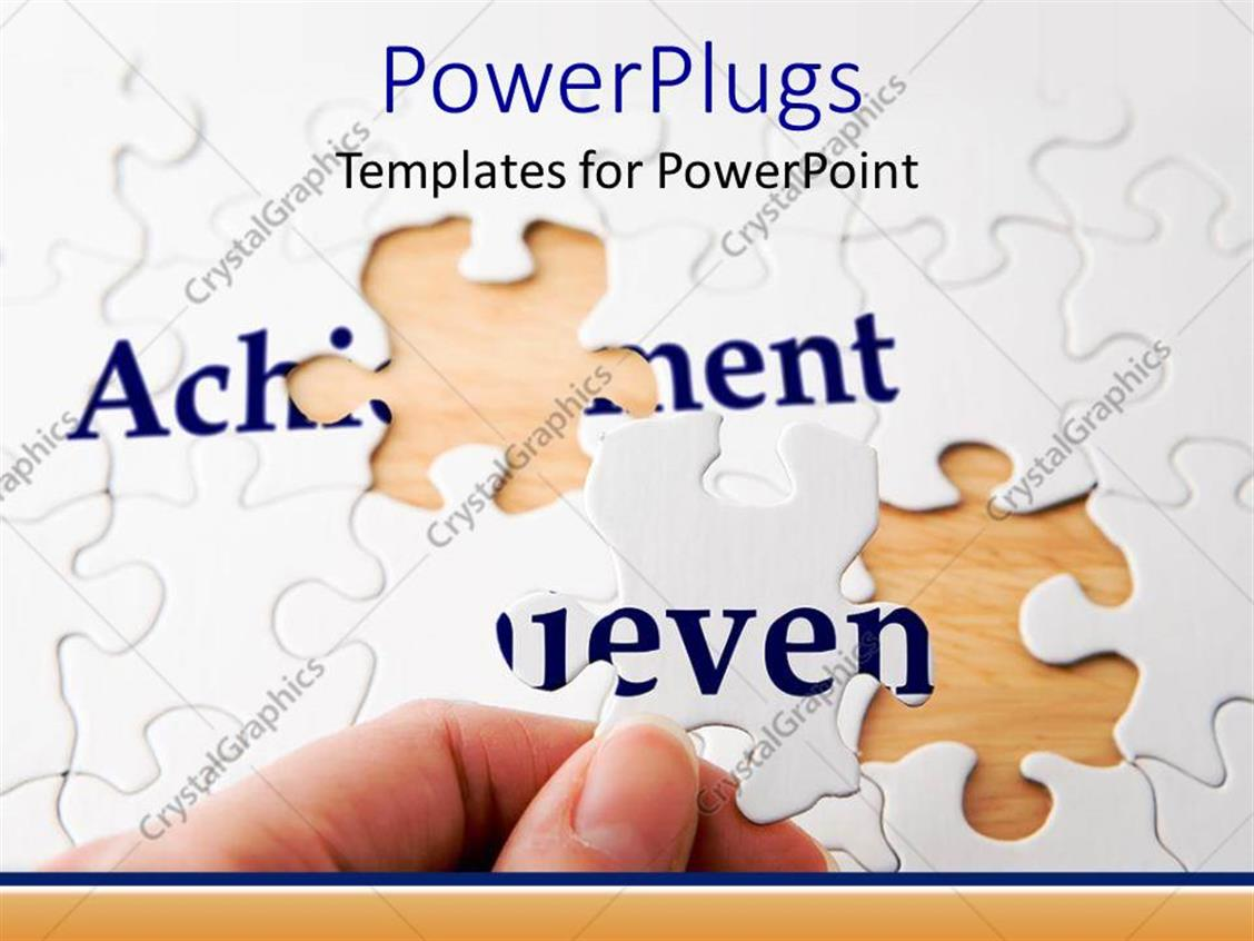 puzzle piece powerpoint template free choice image - templates, Powerpoint templates