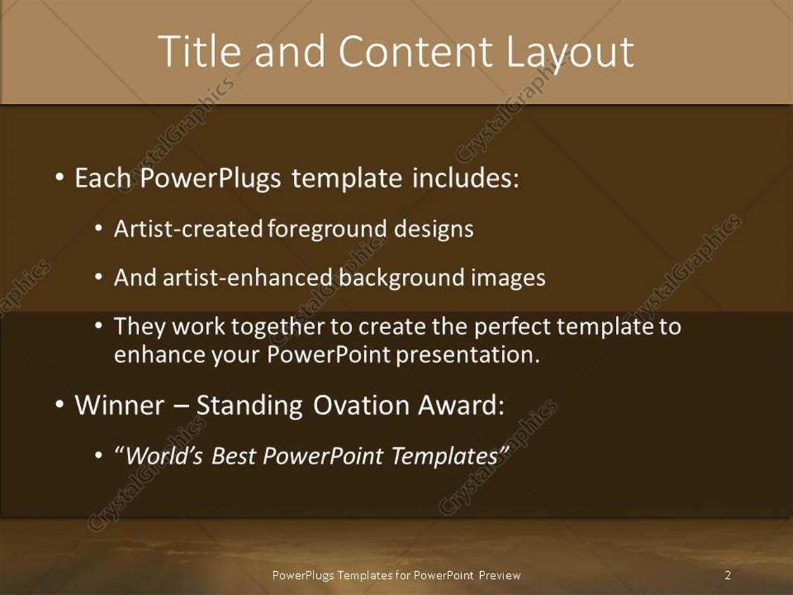 powerpoint template: word africa back litsun through dark, Modern powerpoint