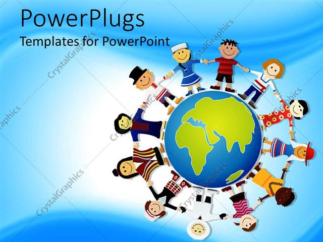 Powerpoint templates world faceboul powerpoint template world peace depiction different races of the toneelgroepblik Gallery