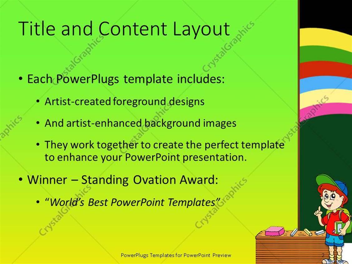 Powerpoint Template For Teachers